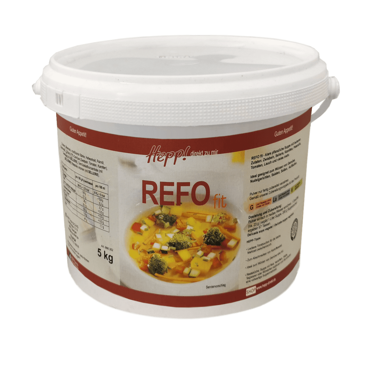 Refo fit Suppe